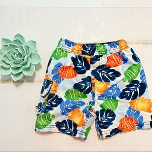 { The Children's Place } Hawaii Baby Swim Trunks